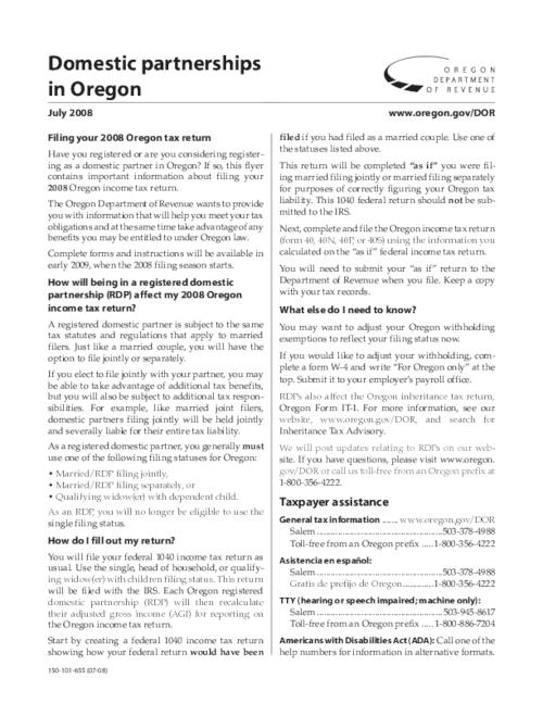 "This archived document is maintained by the Oregon State Library as part of the Oregon Documents Depository Program.  It is for informational purposes and may not be suitable for legal purposes., Title from PDF caption (viewed on Oct. 14, 2010), ""July 2008."", ""150-101-655 (07-08)."", Mode of access: Internet from the Oregon Government Publications Collection."