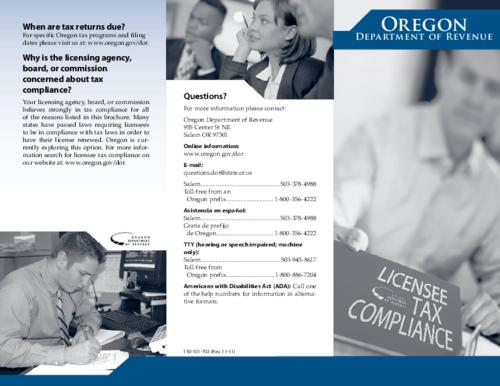 "This archived document is maintained by the Oregon State Library as part of the Oregon Documents Depository Program.  It is for informational purposes and may not be suitable for legal purposes., Title from PDF caption (viewed on July 28, 2015)., ""150-101-703 (Rev. 11-11)."", Mode of access: Internet from the Oregon Government Publications Collection., Text in English."