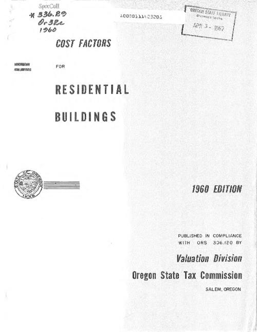 "This archived document is maintained by the Oregon State Library as part of the Oregon Documents Depository Program.  It is for informational purposes and may not be suitable for legal purposes., Title from cover, ""Published in compliance with ORS 306.120."", Mode of access: Internet from the Oregon Government Publications Collection."