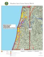Bandon area gorse survey block