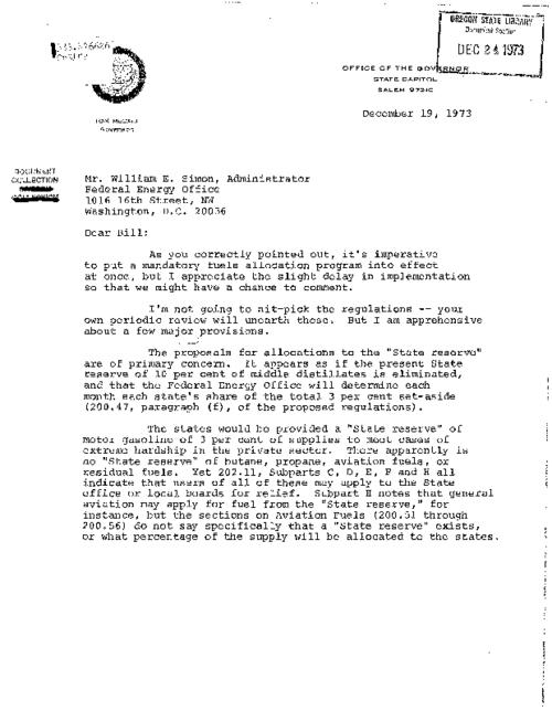 This archived document is maintained by the Oregon State Library as part of the Oregon Documents Depository Program.  It is for informational purposes and may not be suitable for legal purposes., Title supplied by cataloger, Photocopy of typescript, Mode of access: Internet from the Oregon Government Publications Collection., Text in English