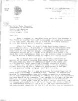 [Letter to Irvin Mann, Director of the Oregon Department of Agriculture about...