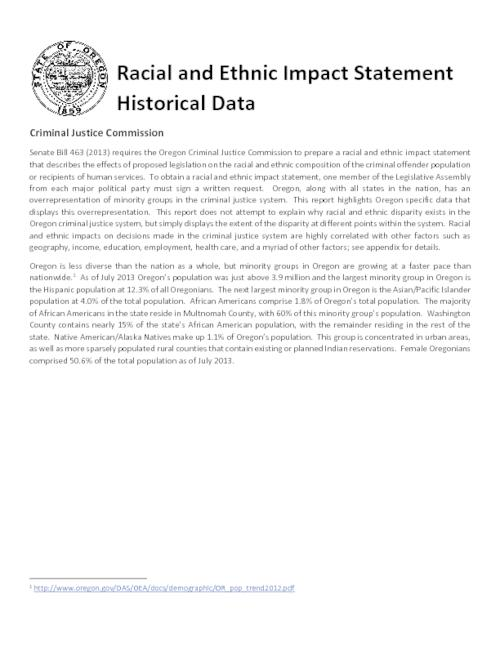 Title from PDF caption (viewed on April 3, 2018)., This archived document is maintained by the State Library of Oregon as part of the Oregon Documents Depository Program. It is for informational purposes and may not be suitable for legal purposes., Includes bibliographical references., Mode of access: Internet from the Oregon Government Publications Collection., Text in English.
