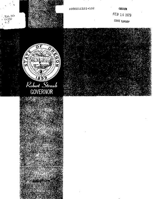 This archived document is maintained by the Oregon State Library as part of the Oregon Documents Depository Program.  It is for informational purposes and may not be suitable for legal purposes., Cover title, Mode of access: Internet from the Oregon Government Publications Collection.