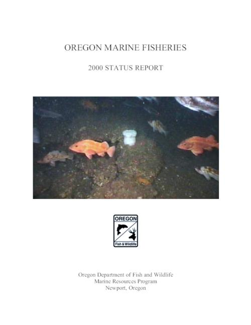 "This archived document is maintained by the Oregon State Library as part of the Oregon Documents Depository Program.  It is for informational purposes and may not be suitable for legal purposes., Title from PDF title page (viewed on Dec. 18, 2009), ""March 2001."", Mode of access: Internet from the Oregon Government Publications Collection."