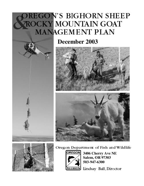 "This archived document is maintained by the Oregon State Library as part of the Oregon Documents Depository Program.  It is for informational purposes and may not be suitable for legal purposes., Title from PDF cover (viewed on Jan. 26, 2010), ""December 2003."", Includes bibliographical references (p. 52-58), Mode of access: Internet from the Oregon Government Publications Collection."