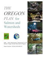 2000 - 2002 effectiveness monitoring for the Western Oregon Stream Restoration...