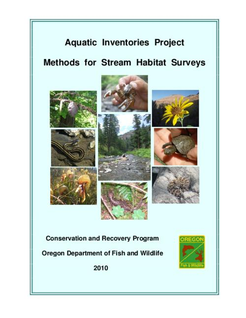 This archived document is maintained by the Oregon State Library as part of the Oregon Documents Depository Program.  It is for informational purposes and may not be suitable for legal purposes., Issue 2007-01 from Information Reports / Fish Division, Oregon Department of Fish and Wildlife, Title from PDF cover (viewed on Oct. 29, 2012), Includes bibliographical references (p. 30-31), Mode of access: Internet from the Oregon Government Publications Collection.