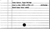 Tree Farms. Tygh Valley - Trees