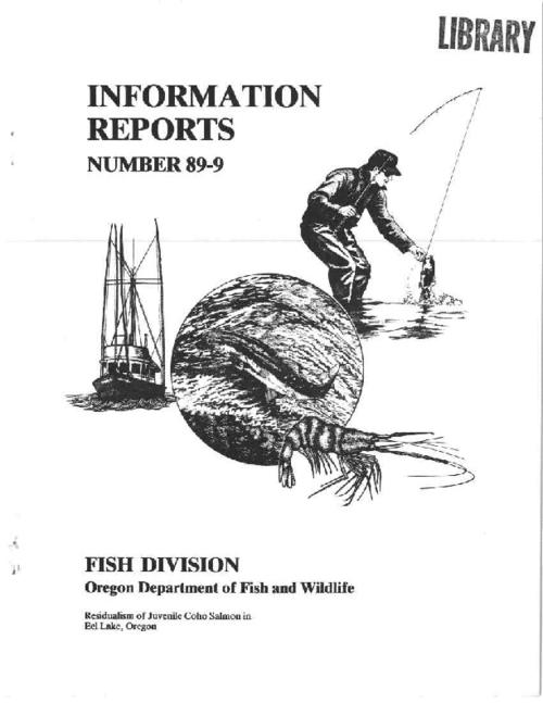 "This archived document is maintained by the Oregon State Library as part of the Oregon Documents Depository Program.  It is for informational purposes and may not be suitable for legal purposes., ""December 1989."", Includes bibliographical references (p. 14-15), Mode of access: Internet from the Oregon Government Publications Collection."