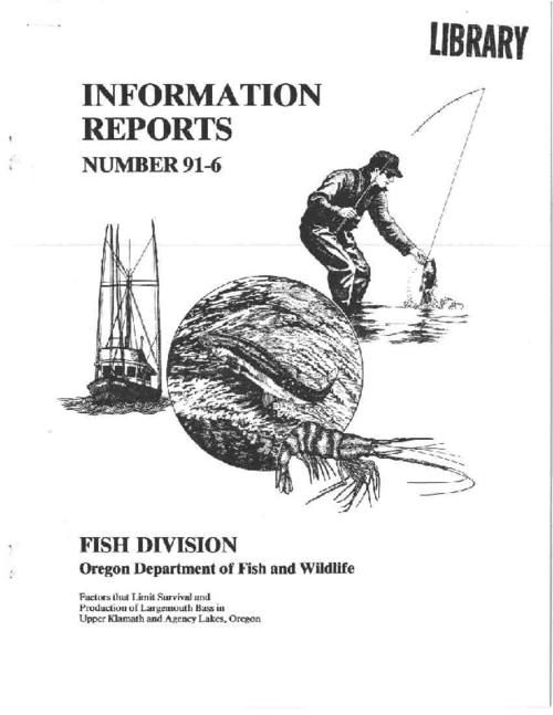 "This archived document is maintained by the Oregon State Library as part of the Oregon Documents Depository Program.  It is for informational purposes and may not be suitable for legal purposes., ""March 1991."", Includes bibliographical references (p. 22-23), Mode of access: Internet from the Oregon Government Publications Collection."