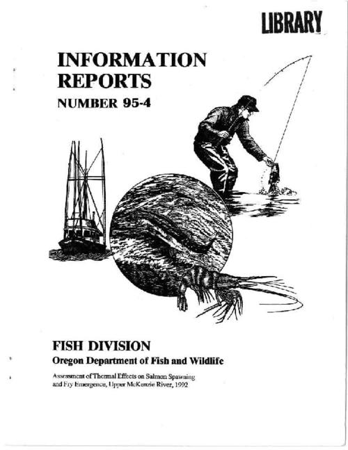 "This archived document is maintained by the Oregon State Library as part of the Oregon Documents Depository Program.  It is for informational purposes and may not be suitable for legal purposes., ""May 1995."", Includes bibliographical references (p. 26-28), Mode of access: Internet from the Oregon Government Publications Collection."