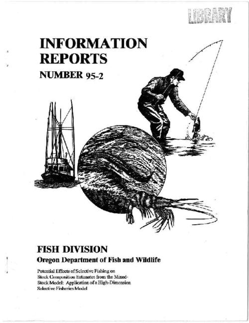 "This archived document is maintained by the Oregon State Library as part of the Oregon Documents Depository Program.  It is for informational purposes and may not be suitable for legal purposes., ""January 4, 1995."", Includes bibliographical references, Mode of access: Internet from the Oregon Government Publications Collection."