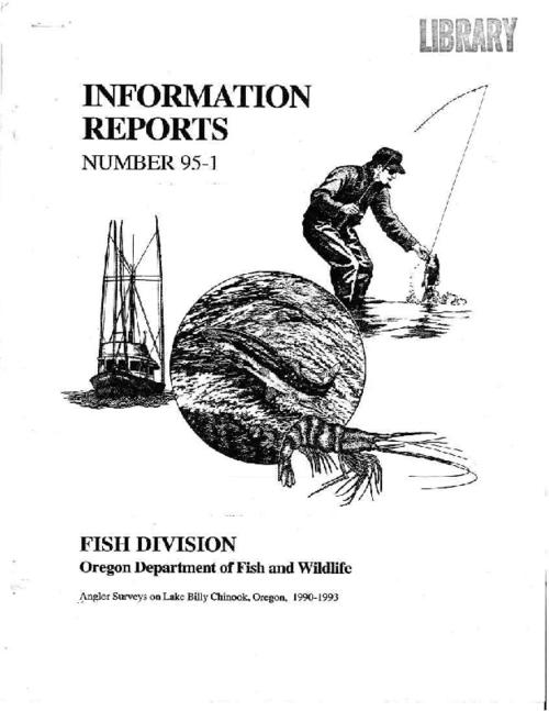 "This archived document is maintained by the Oregon State Library as part of the Oregon Documents Depository Program.  It is for informational purposes and may not be suitable for legal purposes., ""January, 1995."", Includes bibliographical references (p. 26-27), Mode of access: Internet from the Oregon Government Publications Collection."