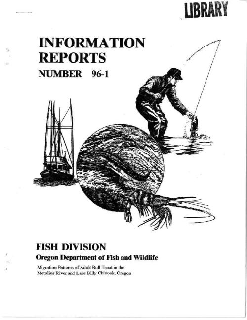 "This archived document is maintained by the Oregon State Library as part of the Oregon Documents Depository Program.  It is for informational purposes and may not be suitable for legal purposes., ""January 1996."", Includes bibliographical references (p. 15-16), Mode of access: Internet from the Oregon Government Publications Collection."