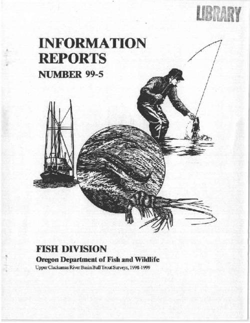 "This archived document is maintained by the Oregon State Library as part of the Oregon Documents Depository Program.  It is for informational purposes and may not be suitable for legal purposes., ""December 1999."", Includes bibliographical references (p. 21-22), Mode of access: Internet from the Oregon Government Publications Collection."
