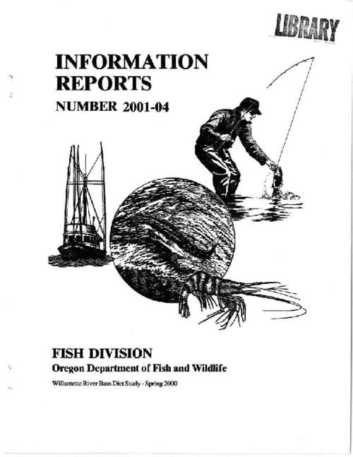 "This archived document is maintained by the Oregon State Library as part of the Oregon Documents Depository Program.  It is for informational purposes and may not be suitable for legal purposes., ""Spring 2000."", Includes bibliographical references (p. 11), Mode of access: Internet from the Oregon Government Publications Collection."