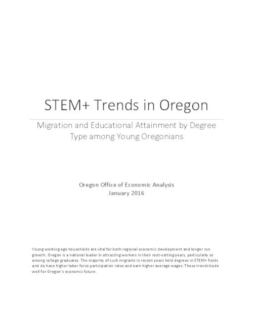 This archived document is maintained by the Oregon State Library as part of the Oregon Documents Depository Program.  It is for informational purposes and may not be suitable for legal purposes., Title from PDF cover (viewed on February 2, 2016)., Includes bibliographical references., Mode of access: Internet from the Oregon Government Publications Collection., Text in English.