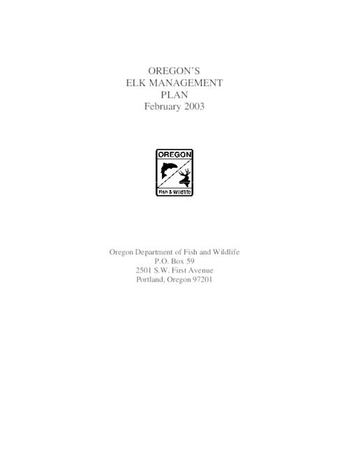 "This archived document is maintained by the Oregon State Library as part of the Oregon Documents Depository Program.  It is for informational purposes and may not be suitable for legal purposes., Title from cover, ""February 2003."", OrDocs shipping list 2003-14, Includes bibliographical references (p. 53-55), Mode of access: Internet from the Oregon Government Publications Collection."