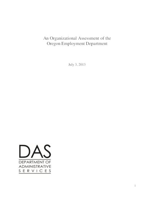 "This archived document is maintained by the Oregon State Library as part of the Oregon Documents Depository Program.  It is for informational purposes and may not be suitable for legal purposes., Title from PDF cover (viewed on July 11, 2013), ""July 3, 2013."", Mode of access: Internet from the Oregon Government Publications Collection."