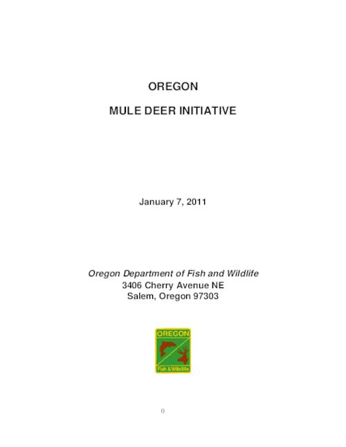 "This archived document is maintained by the Oregon State Library as part of the Oregon Documents Depository Program.  It is for informational purposes and may not be suitable for legal purposes., Title from PDF cover (viewed on Aug. 15, 2012), ""January 7, 2011."", Includes bibliographical references (p. 103-109), Mode of access: Internet from the Oregon Government Publications Collection."