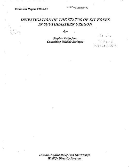 This archived document is maintained by the Oregon State Library as part of the Oregon Documents Depository Program.  It is for informational purposes and may not be suitable for legal purposes., Cover title, Includes bibliographical references (p. 37-46), Mode of access: Internet from the Oregon Government Publications Collection.