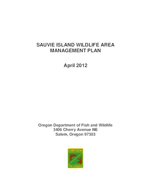 This archived document is maintained by the Oregon State Library as part of the Oregon Documents Depository Program.  It is for informational purposes and may not be suitable for legal purposes., 7Title from PDF cover (viewed on April 24, 2015)., Includes bibliographical references., Mode of access: Internet from the Oregon Government Publications Collection., Text in English.