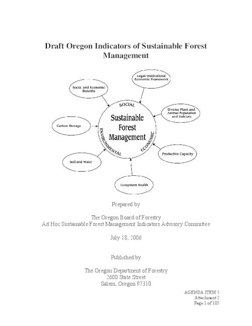 "This archived document is maintained by the Oregon State Library as part of the Oregon Documents Depository Program.  It is for informational purposes and may not be suitable for legal purposes., Title from PDF cover (viewed on Aug. 7, 2006), ""July 18, 2006."", Includes bibliographical references, Mode of access: Internet from the Oregon Government Publications Collection."