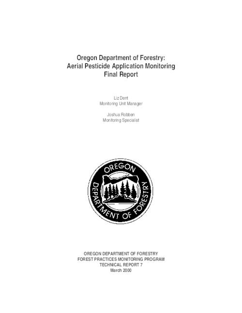 "This archived document is maintained by the Oregon State Library as part of the Oregon Documents Depository Program.  It is for informational purposes and may not be suitable for legal purposes., Title from PDF title page (viewed on Mar. 9, 2009), ""March 2000."", Includes bibliographical references (p. 21), Mode of access: Internet from the Oregon Government Publications Collection., Final report"