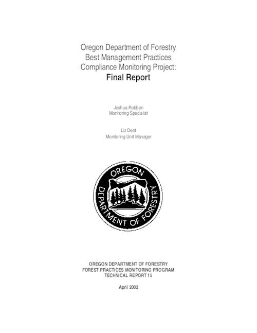 "This archived document is maintained by the Oregon State Library as part of the Oregon Documents Depository Program.  It is for informational purposes and may not be suitable for legal purposes., Title from PDF title page (viewed on Jan. 29, 2009), ""April 2002."", Includes bibliographical references (p. 55-57), Mode of access: Internet from the Oregon Government Publications Collection., Final report"