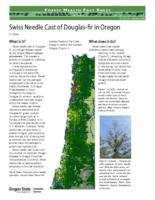 Swiss needle cast of Douglas-fir in Oregon