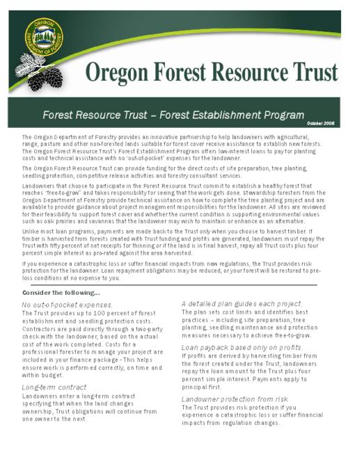 "This archived document is maintained by the Oregon State Library as part of the Oregon Documents Depository Program.  It is for informational purposes and may not be suitable for legal purposes., Title from PDF caption (viewed on Mar. 29, 2010), ""October 2008."", Mode of access: Internet from the Oregon Government Publications Collection."