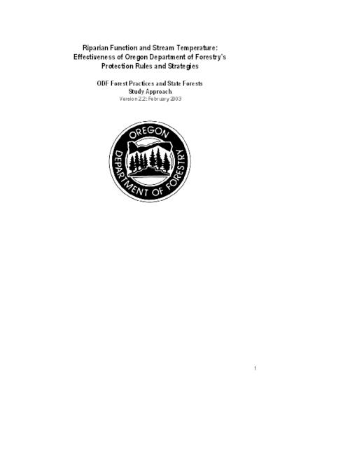"This archived document is maintained by the Oregon State Library as part of the Oregon Documents Depository Program.  It is for informational purposes and may not be suitable for legal purposes., Title from PDF title page (viewed on Jan. 27, 2011), ""February 2003."", Includes bibliographical references (p. 12), Mode of access: Internet from the Oregon Government Publications Collection."