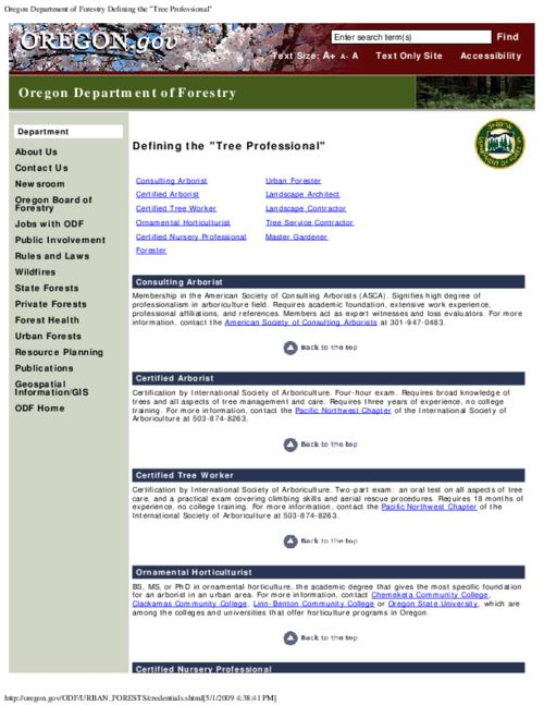 "This archived document is maintained by the Oregon State Library as part of the Oregon Documents Depository Program.  It is for informational purposes and may not be suitable for legal purposes., Title from PDF caption (viewed on Feb. 14, 2011), Converted from HTML, ""Page updated: November 27, 2007."", Mode of access: Internet from the Oregon Government Publications Collection."