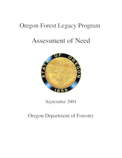 "This archived document is maintained by the Oregon State Library as part of the Oregon Documents Depository Program.  It is for informational purposes and may not be suitable for legal purposes., ""September 2001."", OrDocs shipping list 2003-12, Includes bibliographical references (p. 81-82), Mode of access: Internet from the Oregon Government Publications Collection."