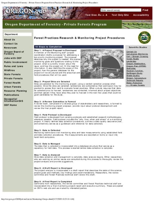 This archived document is maintained by the Oregon State Library as part of the Oregon Documents Depository Program.  It is for informational purposes and may not be suitable for legal purposes., Title from PDF caption (viewed on Feb. 10, 2011), Converted from HTML, Mode of access: Internet from the Oregon Government Publications Collection.
