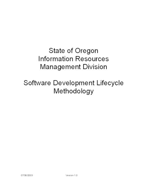 "This archived document is maintained by the Oregon State Library as part of the Oregon Documents Depository Program.  It is for informational purposes and may not be suitable for legal purposes., Title from PDF title page (viewed on Oct. 30, 2006), ""Last updated 07/30/2003"", Mode of access: Internet from the Oregon Government Publications Collection."