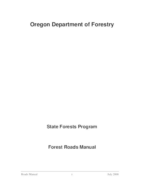 This archived document is maintained by the Oregon State Library as part of the Oregon Documents Depository Program.  It is for informational purposes and may not be suitable for legal purposes., Title from PDF cover (viewed on March 24, 2014), Mode of access: Internet from the Oregon Government Publications Collection., Text in English