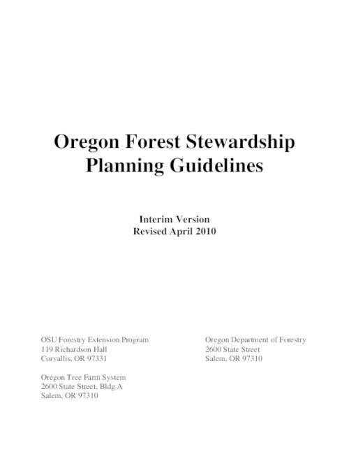 "This archived document is maintained by the Oregon State Library as part of the Oregon Documents Depository Program.  It is for informational purposes and may not be suitable for legal purposes., Title from PDF cover (viewed on Dec. 28, 2012), ""Revised April 2010."", Includes bibliographical references (p. 11), Mode of access: Internet from the Oregon Government Publications Collection."