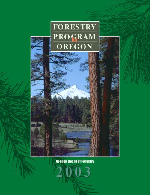 This archived document is maintained by the Oregon State Library as part of the Oregon Documents Depository Program.  It is for informational purposes and may not be suitable for legal purposes., Also see companion document: Oregon Department of Forestry strategic plan, 2004 to 2011, OrDocs shipping list 2004-04, Includes bibliographical references (p. 69-72), Mode of access: Internet from the Oregon Government Publications Collection.