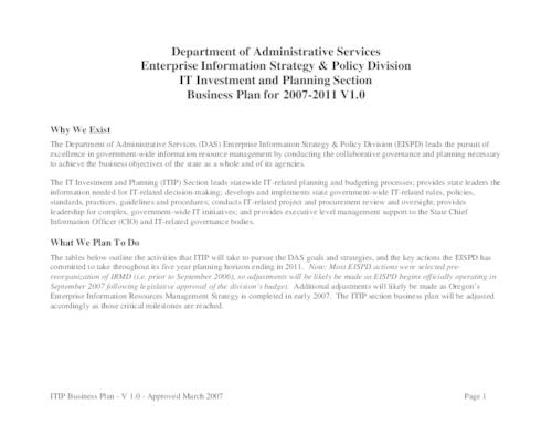 "This archived document is maintained by the Oregon State Library as part of the Oregon Documents Depository Program.  It is for informational purposes and may not be suitable for legal purposes., Title from PDF caption (viewed on Oct. 17, 2008), ""Approved March 2007."", Mode of access: Internet from the Oregon Government Publications Collection."