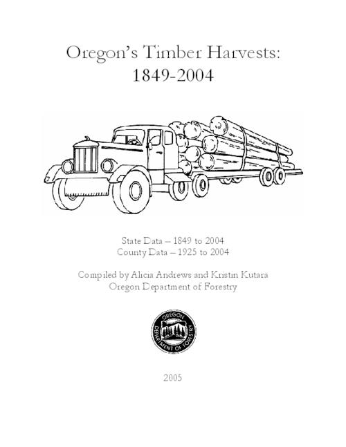 "This archived document is maintained by the Oregon State Library as part of the Oregon Documents Depository Program.  It is for informational purposes and may not be suitable for legal purposes., Title from cover., ""State data - 1849 to 2004, county data - 1925 to 2004."", Includes bibliographical references., Mode of access: Internet from the Oregon Government Publications Collection."