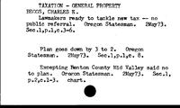 Taxation. General Property. 1973 - Taxation. General Property. 1974