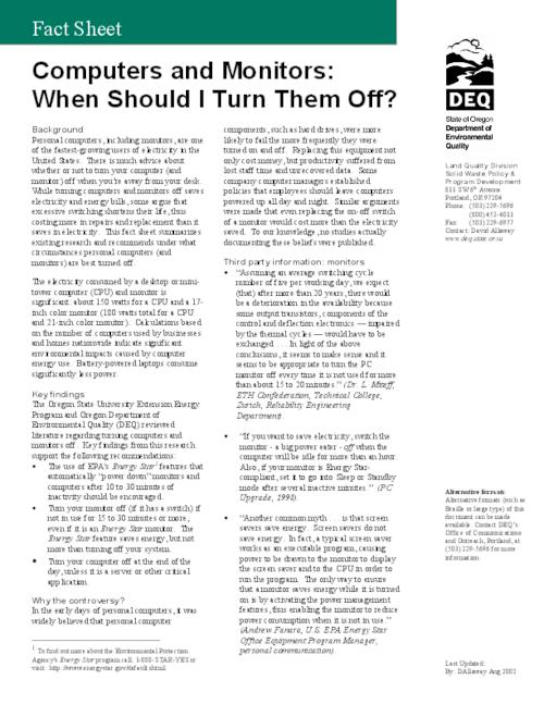 This archived document is maintained by the Oregon State Library as part of the Oregon Documents Depository Program.  It is for informational purposes and may not be suitable for legal purposes., Title from PDF caption (viewed on March 6, 2014), Mode of access: Internet from the Oregon Government Publications Collection.