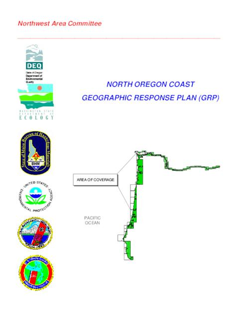 This archived document is maintained by the Oregon State Library as part of the Oregon Documents Depository Program.  It is for informational purposes and may not be suitable for legal purposes., Title from PDF cover (viewed on September 24, 2015)., Plan contributors include: NOAA, USFWS, United States Coast Guard, Oregon Department of Environmental Quality, Oregon Department of Fish and Wildlife, Oregon State Service Center for Geographic Information Systems., Mode of access: Internet from the Oregon Government Publications Collection., Text in English.