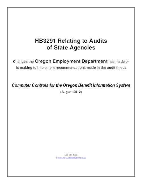 This archived document is maintained by the Oregon State Library as part of the Oregon Documents Depository Program.  It is for informational purposes and may not be suitable for legal purposes., Title from PDF cover (viewed on January 13, 2014), Includes bibliographical references (page ), Mode of access: Internet from the Oregon Government Publications Collection.