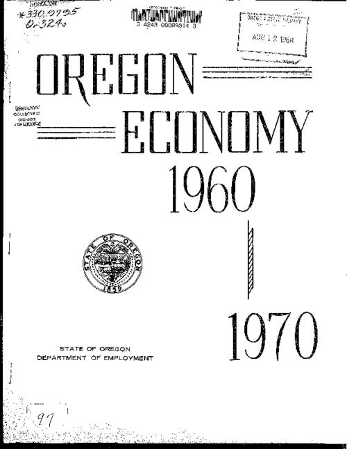 "This archived document is maintained by the Oregon State Library as part of the Oregon Documents Depository Program.  It is for informational purposes and may not be suitable for legal purposes., Title from cover, ""September 15, 1961""--Cover letter, Mode of access: Internet from the Oregon Government Publications Collection."