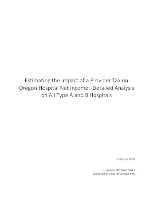 "This archived document is maintained by the Oregon State Library as part of the Oregon Documents Depository Program.  It is for informational purposes and may not be suitable for legal purposes., Chiefly statistics, Title from PDF title page (viewed on June 17, 2011), ""Feburary 2009."", Mode of access: Internet from the Oregon Government Publications Collection."