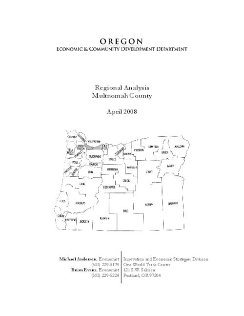 This archived document is maintained by the Oregon State Library as part of the Oregon Documents Depository Program.  It is for informational purposes and may not be suitable for legal purposes., Mode of access: Internet from the Oregon Government Publications Collection.