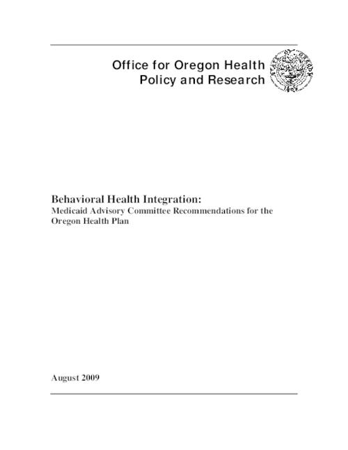 "This archived document is maintained by the Oregon State Library as part of the Oregon Documents Depository Program.  It is for informational purposes and may not be suitable for legal purposes., Title from PDF caption (viewed on Aug. 3, 2011), ""August 2009."", Includes bibliographical references, Mode of access: Internet from the Oregon Government Publications Collection."